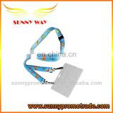 heat transfer printing lanyard with ID card