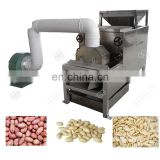Factory Price Groundnut Decorticator Skin Peeler Cocoa Bean India Roasted Peanut Peeling Machine