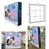 SEG Pop Up Stand ,back wall Exhibition display ,Exhibition display SEG pop up stand/back wall ,Customized Portable Fabric Straight Freestanding 3X3 Back lit Exhibition Seg Pop Up Stand