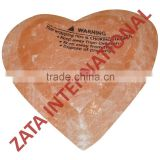 Himalayan Rock Crystal Salt Bath Soap Heart round Bars 0.17 Kg Natural Deodorant Cleansing Massage