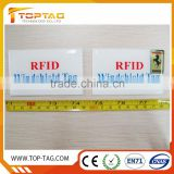 ISO18000 6C EPC Gen2 long range passive uhf rfid windshield tag cheap for Vehicle identification
