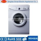 Front loading clothes washer and dryer with freestanding style