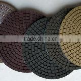 Ceramica Pro Wet Diamond Polishing Pads for All Stone, Granite, Marble, Quartz, Engineered Stone
