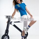 New Design ET bicycle, 35-40km Range Per Charge Foldable electric bike with 350W motor power