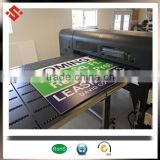 advertising corrugated plastic 4mm coroplast sign board color printing h stake yard sign