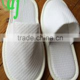 white disposable PP non woven slippers hotel slippers /white hotel slipper