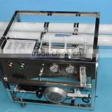 Portable Seawater Desalination RO water treatment plant 1000L/D desalinator for solar power