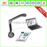 New inventions hottest sales 2015 education equipment visualizer Dual camera record video document camera