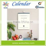High quatity Printing Paper Wall Calendar for Promotion                                                                         Quality Choice