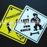 Baby on Board Full Color Adhesive Vinyl Sticker Window Car Bumper