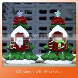 hot ceramic christmas gift christmas ceramic LED decoration