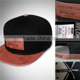 6-Panel Hat,embossed logo patch, Metal buckle leather strap, Top Quality Snapback cap