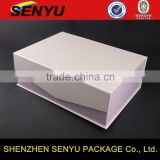 luxury design with magnetic snap, carboard paper box packagings                                                                         Quality Choice