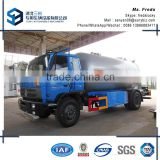 12000 liters LPG gas tanker truck price 4x2 dongfeng RHD LPG tank trucks for sale