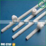 High speed cnc machining craft customized cheap acetal derlin pom plastic gear rack rail