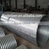 Large diameter thick wall culvert pipe used for road highway construction
