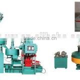 Terrazzo tile forming machine