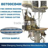 80700CD4HL Double Needle Four Threads Heavy Duty Sewing Machine, Industrial Sewing Machine, Chain Stitch Sewing Machine For Bags                                                                         Quality Choice