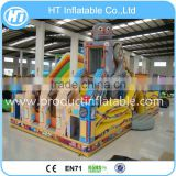 The Most popular Inflatable Theme Bouncy Castle Amusement Park For Kids