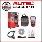 New Arrivel Autel AutoLink AL519 OBD-II and CAN Scanner Support All OBD2 Cars Update Online Autolink AL 519 Diagnostic Tool