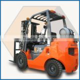 Factory wholesale 1.8 ton CNG and Gasoline Manual Transmission Forklift with Nissan K21 Gasoline Engine