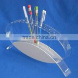 clear acrylic pen display stand pencil