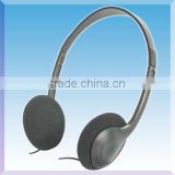 WF-08 Disposable Low Cost Stereo Headband Headphone with Exchangeable Cover Free Sample Low MOQ