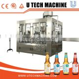 Automatic high speed beer glass bottle filling machinery