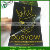 garment hot stamping label, garment hot stamping sticker, hot stamping label for garment
