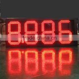 "China manufacturer 8"" 10"" 12"" 16"" 20"" 24"" outdoor led digital sign board/7 segment led clock display/outdoor led clock display"
