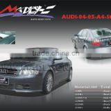 Fiberglass bodykits for 04-05-A4