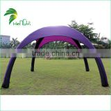 Custom Color Inflatable Air Yard Tent Giant Firm Inflatable Spider Tent                                                                         Quality Choice