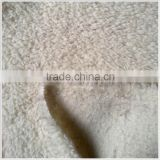 100% polyester artificial fur fabric for Coat                                                                         Quality Choice