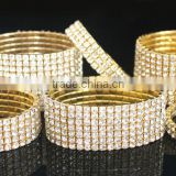 Crystal Rhinestone Diamante Stretch Bracelet Bangle Wedding Bridal Wristband