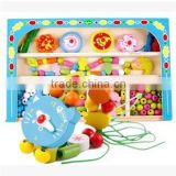 baby educational DIY beading, beaded hand toys