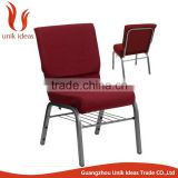 Wholesale Iron Theater furniture Church Chair
