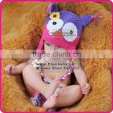 knit crochet owl baby hat newborn knitted baby hat crochet baby hat pattern