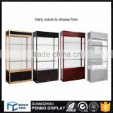Factory product transparent antique curio cabinet showcase
