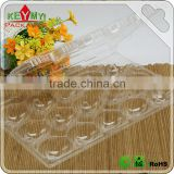 wholesale disposable eco-friendly customize plastic clear food tray,clear apple plastic food packaging tray