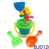 Happy toy funny windmill bucket beach toy set