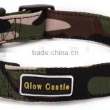 hot sell camouflage hemp dog collar