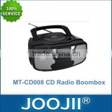 Portable MP3/CD Player With FM/AM Stereo Radio And USB Input, Hot Selling CD Radio Boombox