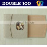hot sale cloth photo album cover from double100