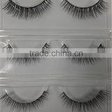 wholesale supply natural-looking lashes eyelash extensions 3D real mink fur false eyelashes eyelash extension