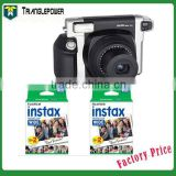 Fujifilm Fuji Instax Wide 300 Instant Film Camera + 40 Sheets Wide Instant Film