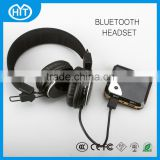 Leading gold supplier gaming headset wired headphone adjustable over ear headset from China