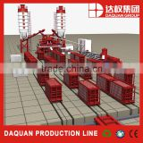 Wuhan Daquan EPS cement sandwich wall panel machinery/ EPS cement wall panel production line