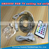 Wirelss Remote control rgb led strip backlight usb ambilight With USB Cable for tv