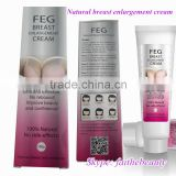 To have pale tight large breasts with FEG cream