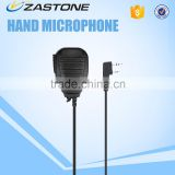 Handy talky Speaker Microphone H34-K for baofeng/TYT/HYT/ZASTONE walkie talkie, wireless tour guide